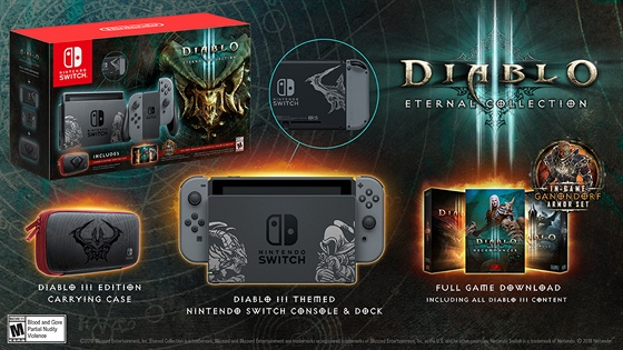 Bundle Nintendo Switch Diablo 3 Special Edition