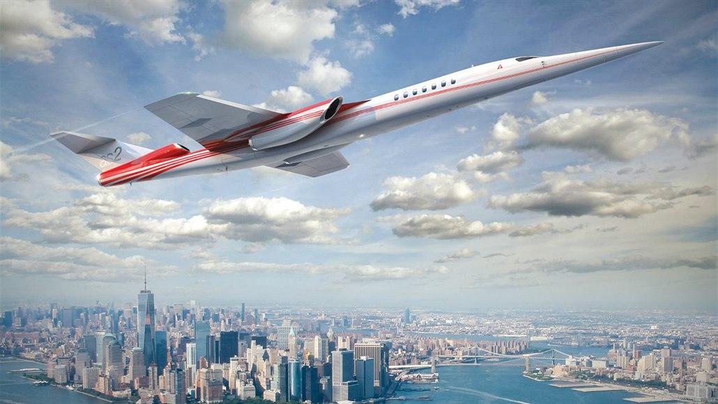 Comeback civilních nadzvukových letadel. Aerion chce vzlétnou za čtyři roky