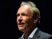 Sir Tim Berners-Lee na konferenci Festival of Creativity (2015)