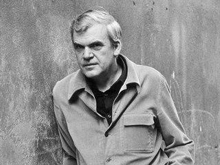 Spisovatel Milan Kundera (duben 1979)