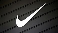 FILE PHOTO: The logo of Nike (NKE) is seen in Los Angeles, California, U.S.,...