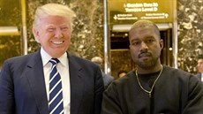Donald Trump a Kanye West (New York, 13. prosince 2016)