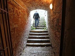 I když tyto schody vedou z třebíčského Karlova náměstí, šel po nich zatím jen...