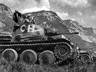 Lehké tanky Praga LTH sloužily ve Švýcarsku jako typ Pzw 39 (Panzerwagen 39).