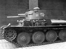 Lehký tank Praga TNH určený pro Persii (Írán), později se značil jako TNH-P.