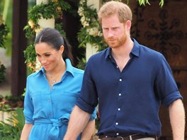 The Duke of Sussex and Duchess of Sussex arrive at Tupou College in Tonga....