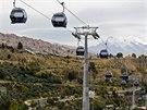 Bolívijská metropole La Paz je nejvýše položeným hlavním městem na světě....
