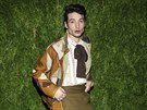 Herec Ezra Miller na akci CFDA / Vogue Fashion Fund (5. listopadu 2018, New...