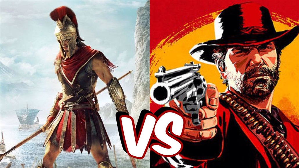 Red Dead Redemption 2 versus Assassin's Creed Odyssey