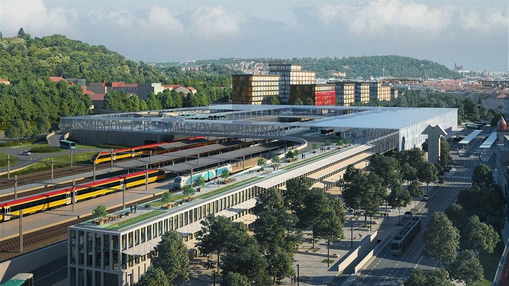 Radní odklepli dopravní terminál na Smíchově, stát bude tři miliardy
