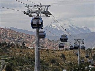 První linku otevřel bolívijský dopravní podnik v roce 2014, o její vznik se...