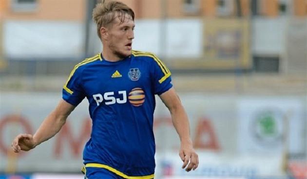 Olen iloinen, että valmentaja antoi minulle mahdollisuuden, sanoo Jihlavan jalkapalloilija Stepanek