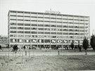 Obchodní dům v centru Zlína na archivním snímku ze 30. let, kdy byl chloubou...