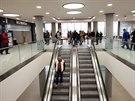 Jezdicí schody se v původním Obchodním domě objevily jako vůbec první v...