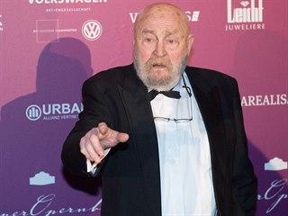 Německý filmový a divadelní herec Rolf Hoppe, českým divákům je znám především...