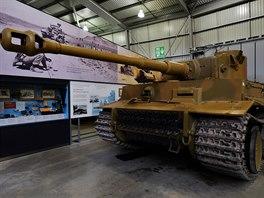 Nakonec zaparkoval v muzeu v Bovingtonu-Dorsetu.
