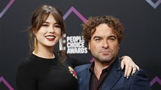 Alaina Meyerová a Johnny Galecki na People's Choice Awards (Santa Monica, 11....