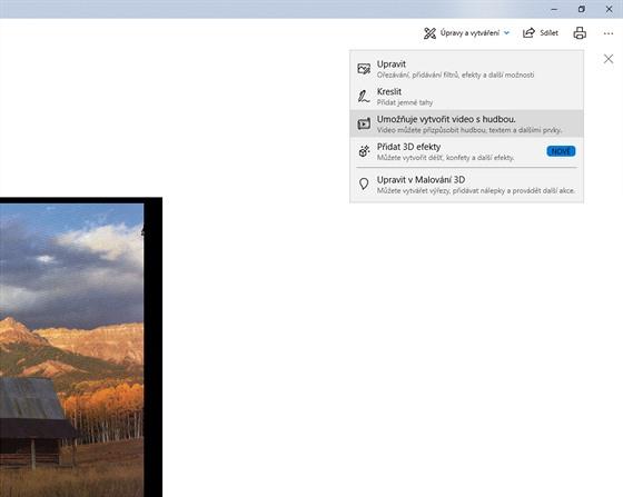 Tipy Pro Windows 10 Akcni Videa Z Fotografii A Treba I S 3d Efekty