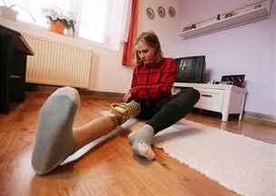Pomozte nadšené sportovkyni Natálce k bezbolestnému pohybu a nové protéze