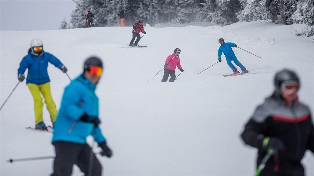 Zloději v Krkonoších za leden ukradli lyže a snowboardy za čtvrt ... c7d7cd9017e