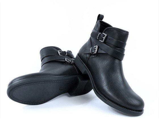 Kožené boty z hladké kůže potřebují promazávat mastným krémem. 11934f42d0