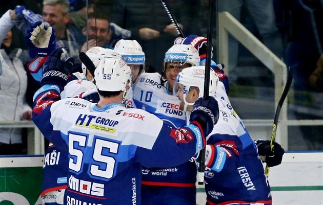 Jucătorii de hochei Brno încep o serie de cinci meciuri pe stadionul lor