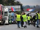 Hnutí žlutých vest opět demonstruje v Paříži a dalších francouzských městech...