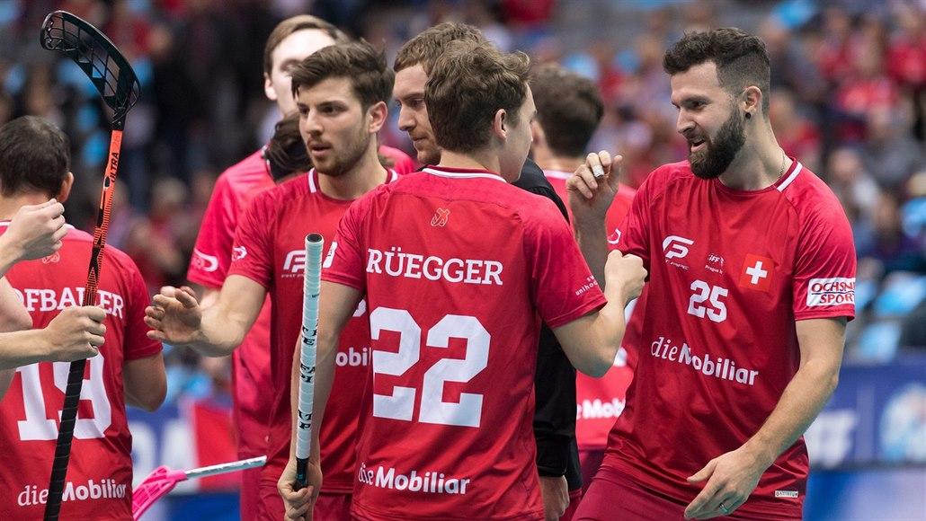 Švýcarští florbalisté jsou v semifinále MS, Nory udolali až v prodloužení