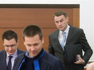 Liberecký hejtman Martin Půta u soudu (4. prosinec 2018)