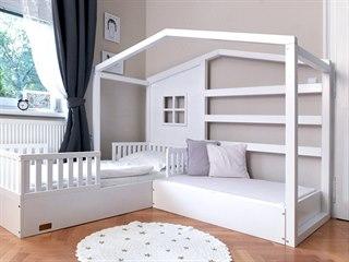 Postýlky pro děti vyrábí malá rodinná firma na severu Čech.