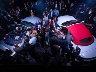 Automobilka Bentley představila v Mnichově nový Continental GT Convertible