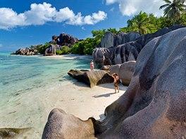 Pláž Anse Source D'Argent na Seychellách