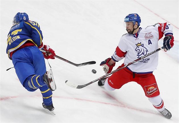 faf5e8b767ad4 Hokejisté ztratili dvoubrankové vedení. Se Švédy nakonec padli 2:3 ...