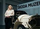 Andrea Frydlová vede Škoda Muzeum v Mladé Boleslavi