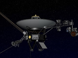 Sonda Voyager 2, která opustila heliosféru.