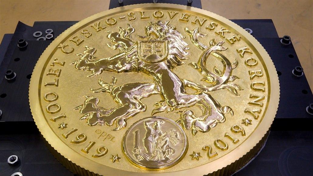 ČNB ukáže největší evropskou zlatou minci naživo i ve virtuální realitě