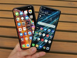 Huawei Mate 20 Pro a Apple iPhone XS Max