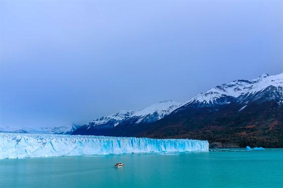 Ledovec Perito Moreno vargentinském parku Los Glaciares