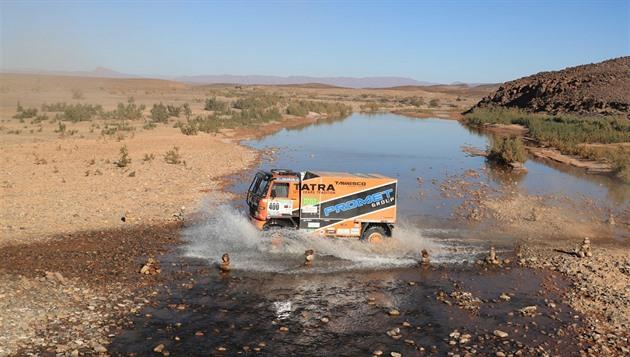 Solistul din deșertul Tomeček a văzut din nou lacul roz lângă Dakar