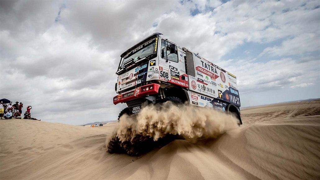 Kolomý na Dakaru nestihl start čtvrté etapy, do závodu se chce vrátit