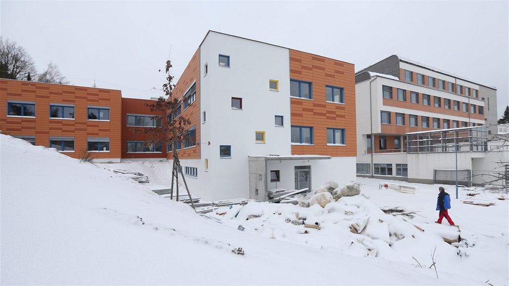 Novoměstská nemocnice má nové dětské oddělení, hotovo je na den přesně