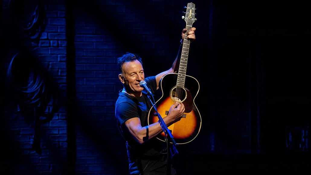 Z koncertního záznamu Springsteen on Broadway