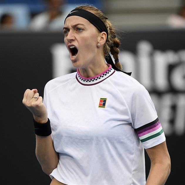Kvitová și Berdych domină sărbătoarea avansului, Vondroušová se încheie
