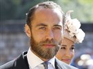 James Middleton na svatbě prince Harryho a Meghan Markle (Windsor, 19. května...