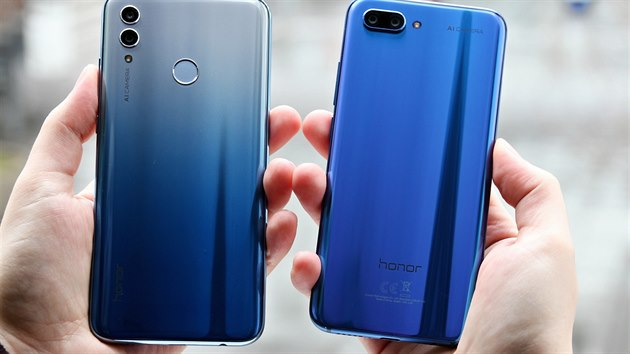 Honor 10 Lite a Honor 10