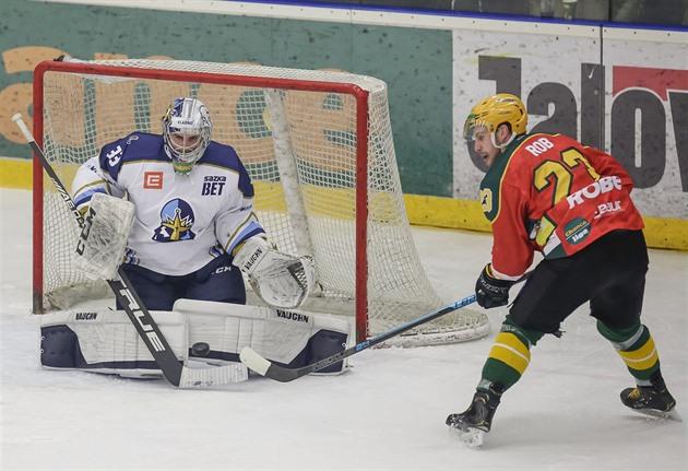 První hokejová liga: Kladno hraje ve Vsetíně, Jihlava hostí Ústí