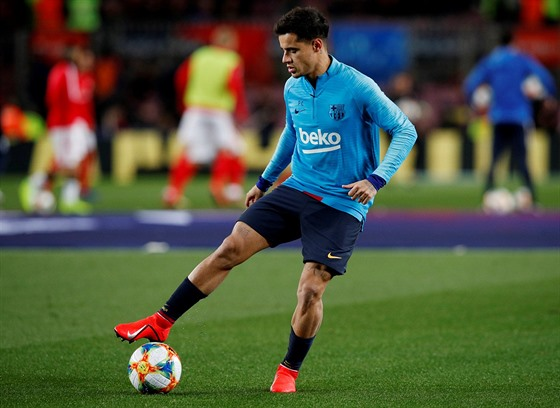 Philippe Coutinho z Barcelony