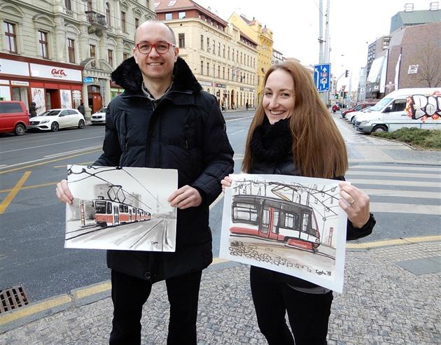 Andrea Kopečková a Ondřej Caska