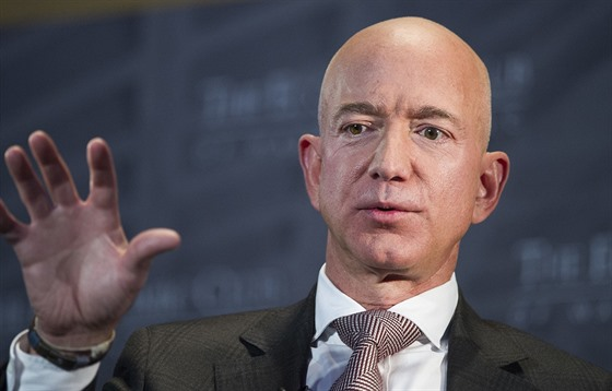 Jeff Bezos (Washington, 13. září 2018)