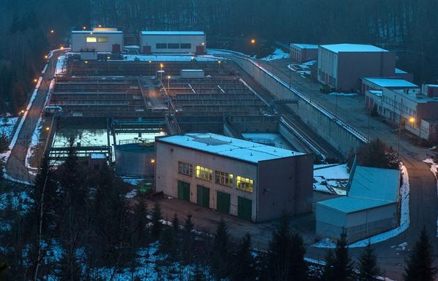 Čistírna odpadních vod v Českém Krumlově má kapacitu, která by vystačila pro celé Brno.